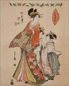 La cortigiana Somenosuke