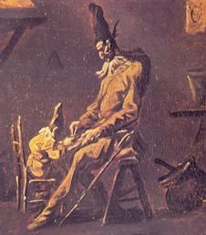 Pulcinella e suo figlio