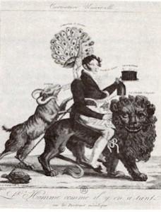 Incisione francese del XIX sec.
