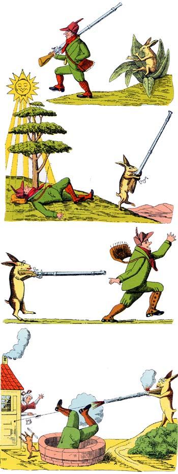 Storia del fiero cacciatore